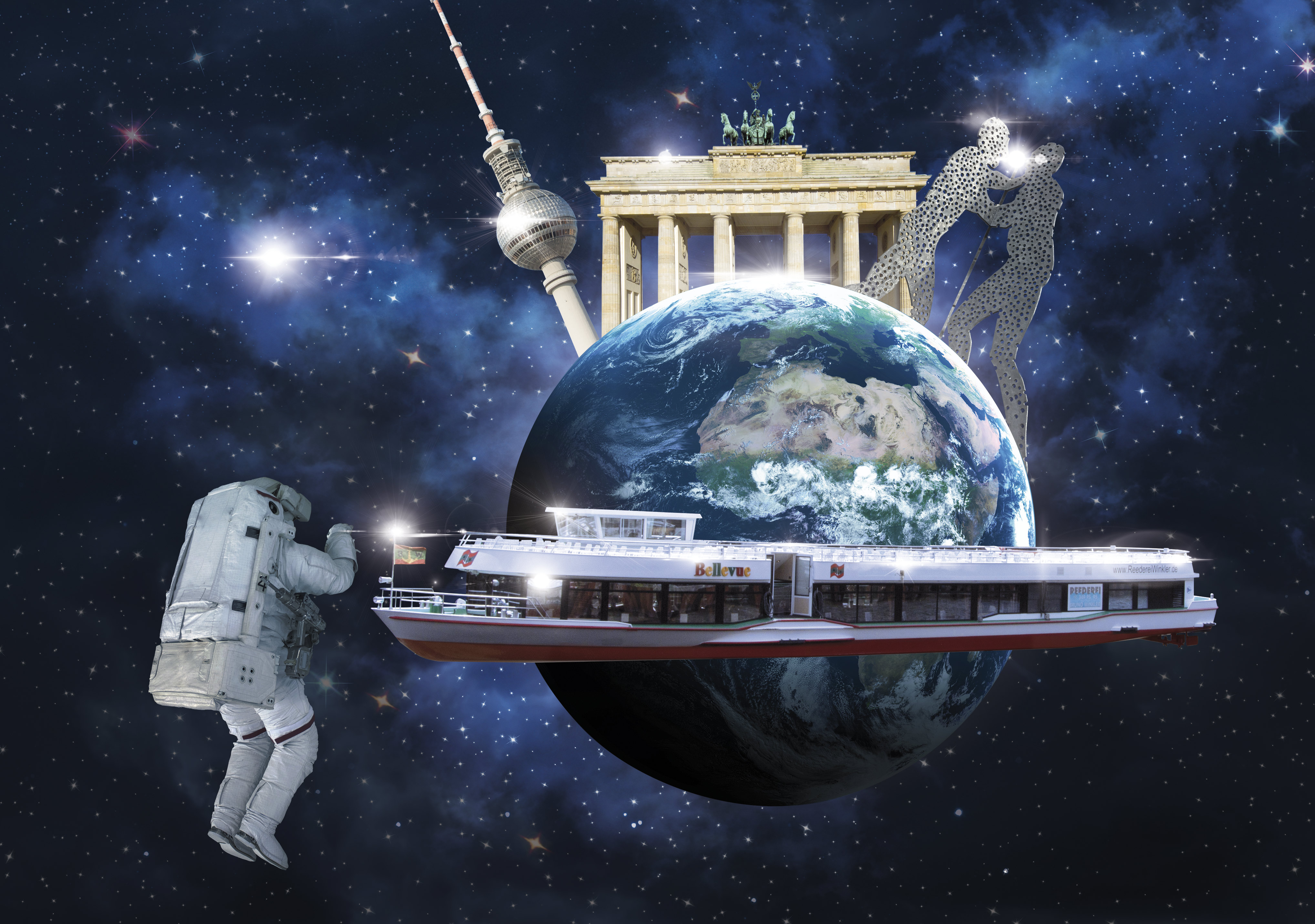 Unsere Berlin #StarWarsDay Galaxie