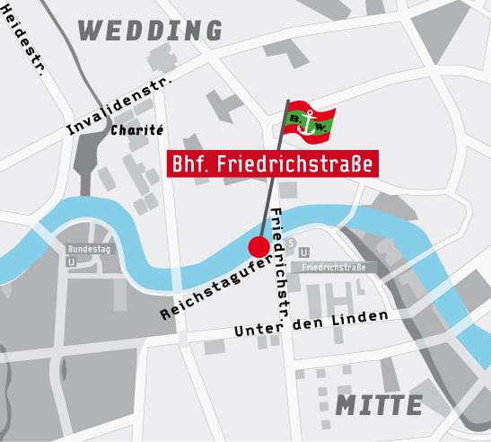 Landing Stage Bahnhof Friedrichstraße