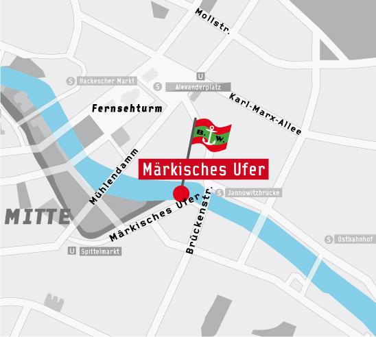 Anlegestelle Märkisches Ufer / Jannowitzbrücke