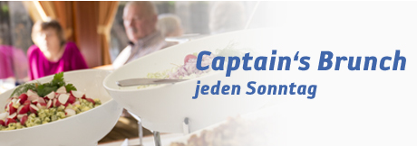 Berlin Captain's Brunch auf der Spree